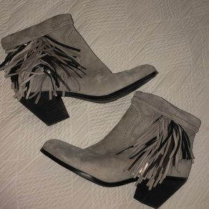 Sam Edelman boots (light grey)